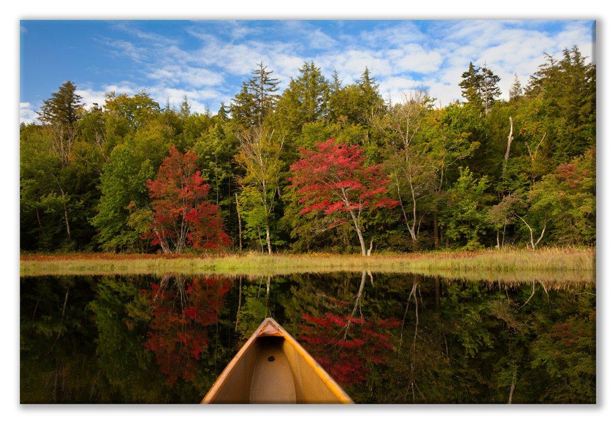 Canoe 2 W Branch Sept-87 Adrift in Fall 01 Display.jpg