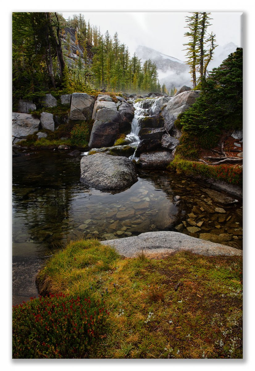 Enchantments-222 A Pond in the Enchantments Tall Display.jpg