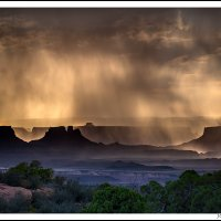 Afternoon Storm, Canyolands NP, Utah.