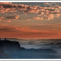 Canyonlands Sunset, from Island in the Sky.