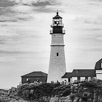 Lighthouse at Cape Elizabeth