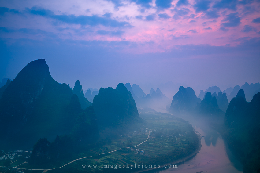 Li River Mountain Dawn