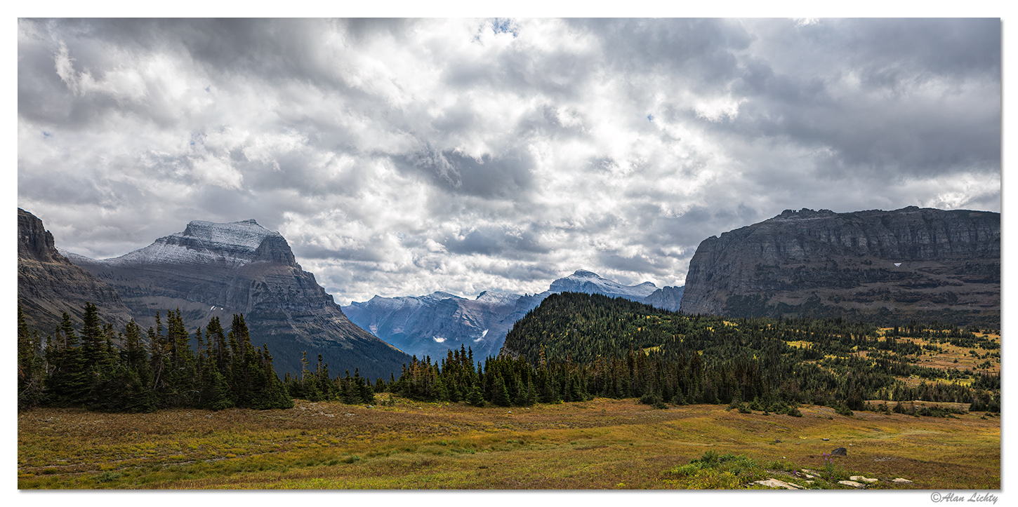 Looking East - Logan Pass